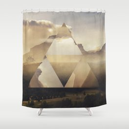 Hyrule - Power of the Triforce Shower Curtain