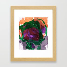Abstract #9 Framed Art Print