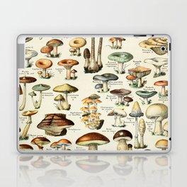 Vintage Mushroom & Fungi Chart by Adolphe Millot Laptop & iPad Skin