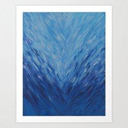 Ocean Heart Break Art Print