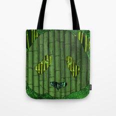 Panda & bamboo Tote Bag
