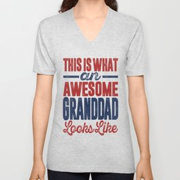 Gift for Granddad Unisex V-Neck