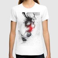 women T-shirts featuring women by  MuDi