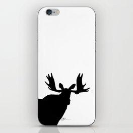 Simply moose 1 iPhone Skin