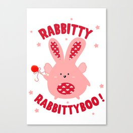 Magic rabbit Canvas Print