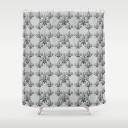 Nola Fleur de lis Triple Shower Curtain