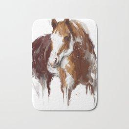 Paint Horse. Bath Mat