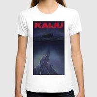 kaiju T-shirts featuring kaiju by tama-durden