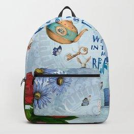 Alice In Wonderland - Imagination Backpack