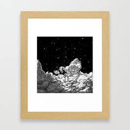 The Miner Framed Art Print