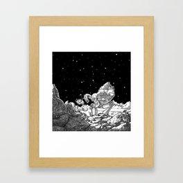 The Miner Framed Art Print