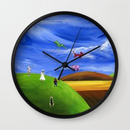 Hilly Helium Wall Clock