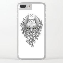 Rex Clear iPhone Case