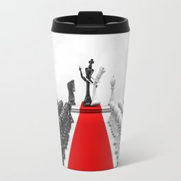 Wedding Chess / 3D render of checkmating ceremony Travel Mug