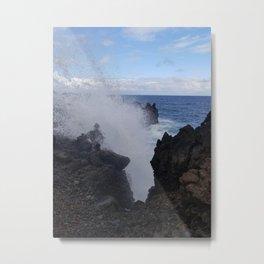 Ocean Explosion Metal Print