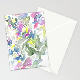 Colourful Leafs Stationery Cards