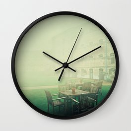 oxford castle silence Wall Clock