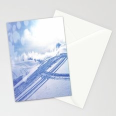 Fresh Tracks Stationery Cards