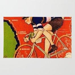 Tour De France Vintage Rug