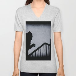 Nosferatu Classic Horror Movie Unisex V-Neck