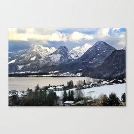 Lake Wolfgang, Austria. Canvas Print