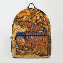 The Mulberry Tree by Vincent van Gogh Backpack