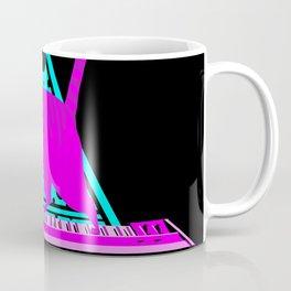 Pink Cat in Space Coffee Mug