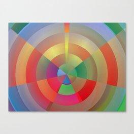 Barcelona Bullseye Canvas Print