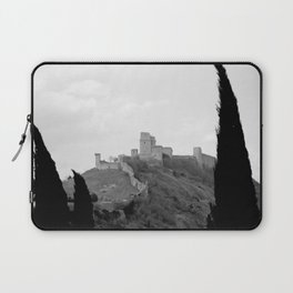 Assisi in the winter Laptop Sleeve