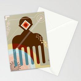 Adinkra Duafe Stationery Cards