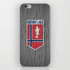 NORWAY LAKE / Sunburg / 2,327 acres iPhone & iPod Skin