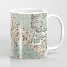 Map of Venice - 1886 Coffee Mug