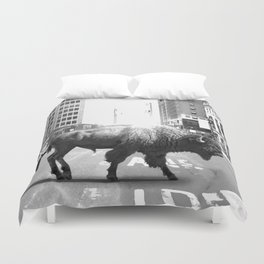 STREET WALKER Duvet Cover