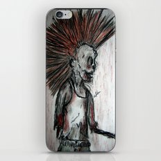 Punk is UnDead iPhone Skin