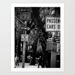 NEW YORK//STREET Art Print