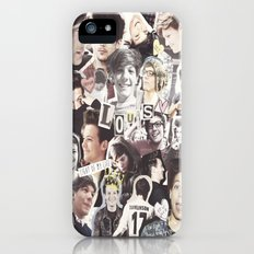 ONE DIRECTION LOUIS TOMLINSON - COLLAGE1 iPhone (5, 5s) Slim Case