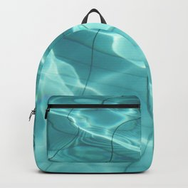 Water / Swimming Pool (Water Abstract) Backpack