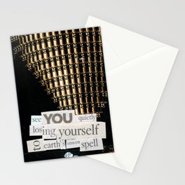 Money for Power Print Stationery Cards