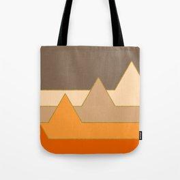 Orange Mountains #society6 #decor #buyart Tote Bag