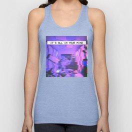Vaporwave Aesthetic Style Emotional Dream Gift for sad boys and girls Unisex Tank Top