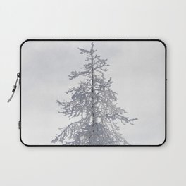 Yellowstone National Park - Ice Covered Tree Laptop Sleeve