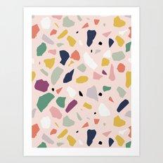 Big Terrazzo Art Print