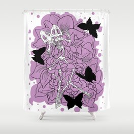 Ghost Story (Funeral) Shower Curtain