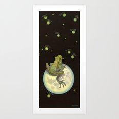moonfrog Art Print