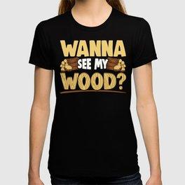 Funny Woodworking Carpenter Meme Gift T-shirt
