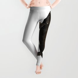 The right whale to love Leggings