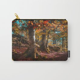 sunrise in the forest morning walk Carry-All Pouch