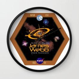 James Webb Space Telescope: The NASA Logo Wall Clock