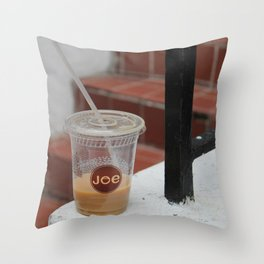 Cuppa Joe Throw Pillow
