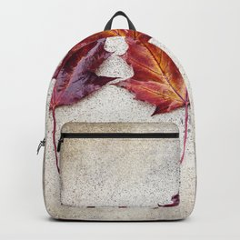 Maple Leaves Backpack